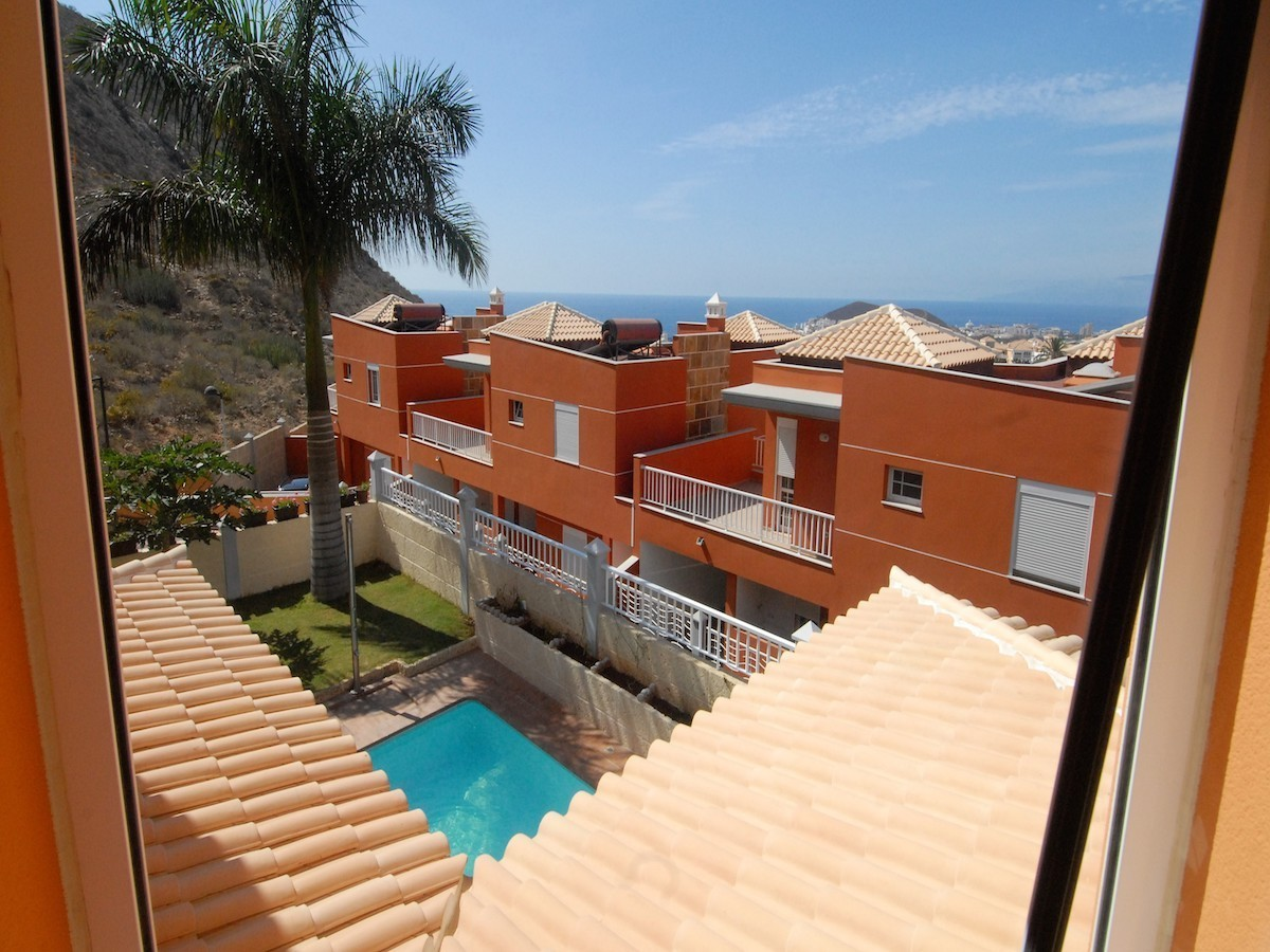 Villa indipendente, vista terrazza