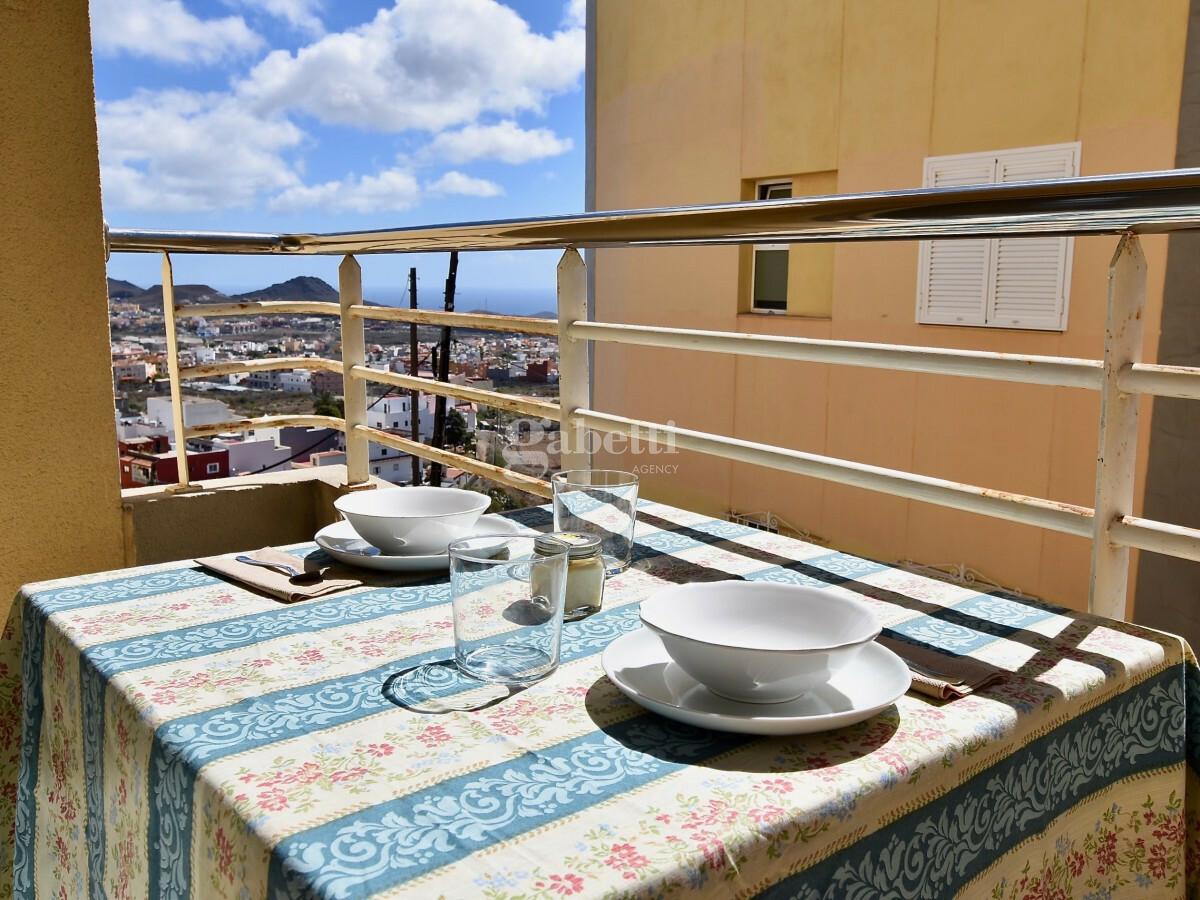 Bilocale vista mare a pochi minuti da Los Cristianos, vista balcone